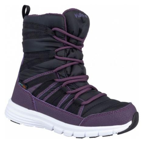 Black girls' snow boots