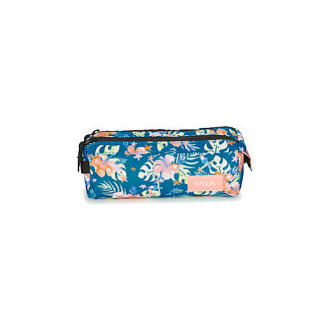 Rip Curl PENCIL CASE 2P TOUCAN FLO girls's Children's Cosmetic bag in Blue