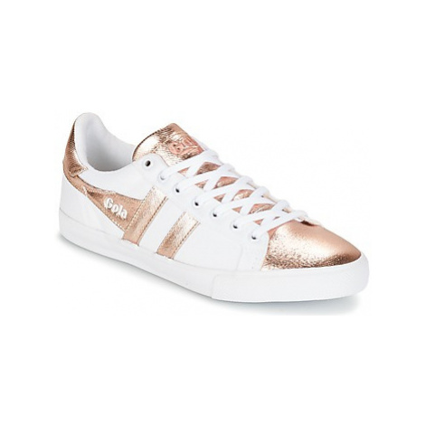 Gola ORCHID TEXTILE METALLIC women's Shoes (Trainers) in White