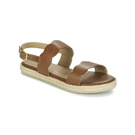 Betty London IKARO women's Sandals in Brown
