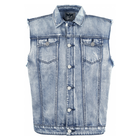 Black Premium by EMP - Life Of An Easy Rider - Waistcoat - blue