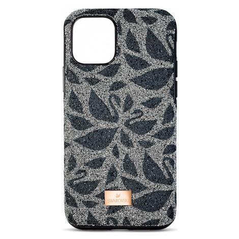 Swarovski Swanflower Smartphone Case with Bumper, iPhone® 11 Pro, Black