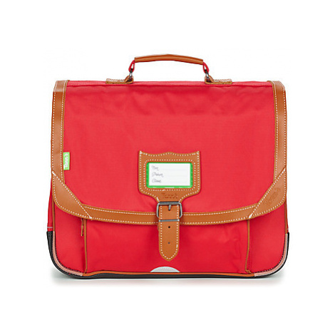 Tann's MADRID CARTABLE 38 CM boys's Briefcase in Red