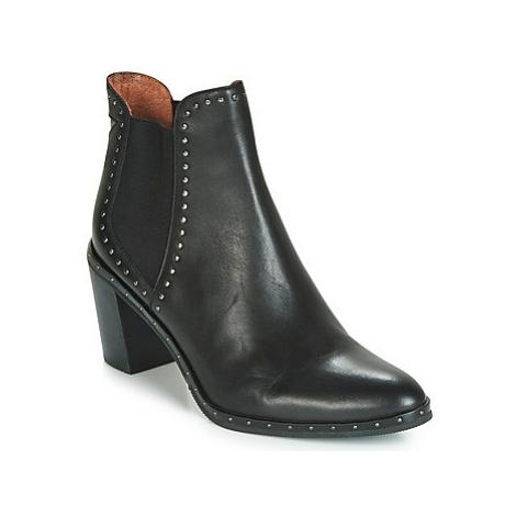 Mam'Zelle NAGI women's Low Ankle Boots in Black