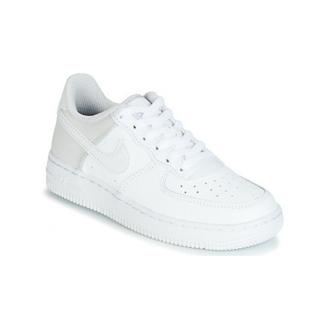 Nike AIR FORCE 1 PS girls's Children's Shoes (Trainers) in White