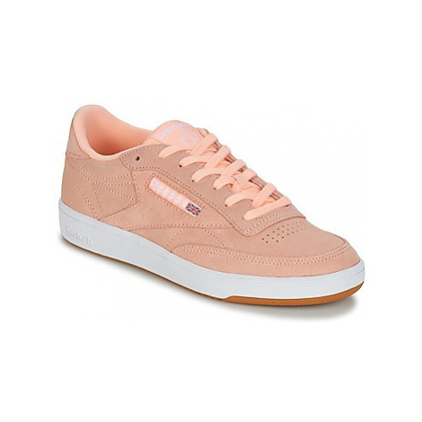 Reebok Classic CLUB C 85 women's Shoes (Trainers) in Pink