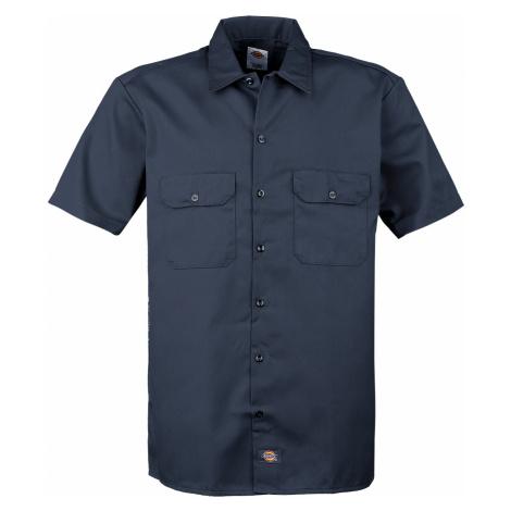 Dickies - Short Sleeve Work Shirt - Workershirt - navy