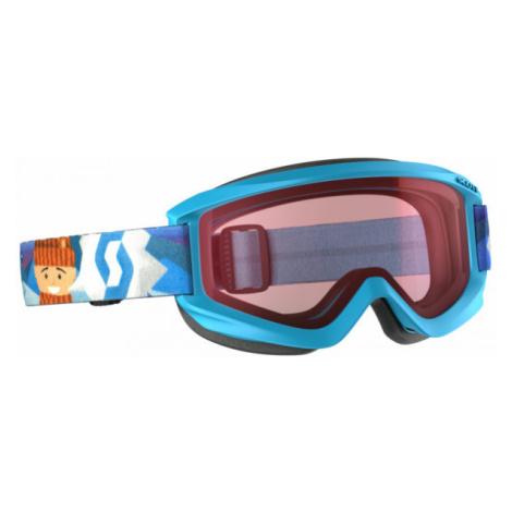 Scott JR AGENT AMPLIFIER blue - Kids' ski goggles