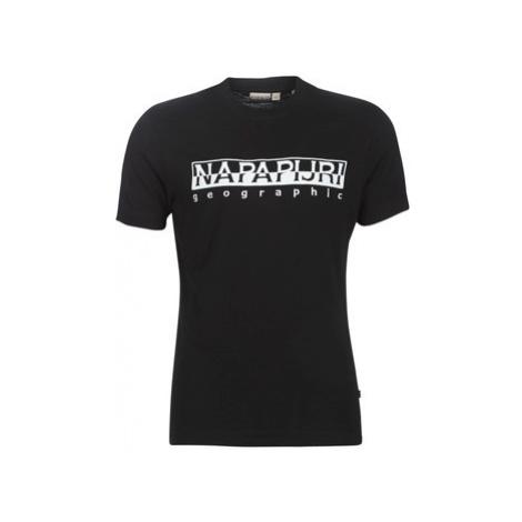Napapijri SERBER men's T shirt in Black