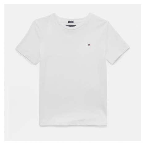 Tommy Hilfiger Boys' Short Sleeve T-Shirt - Bright White