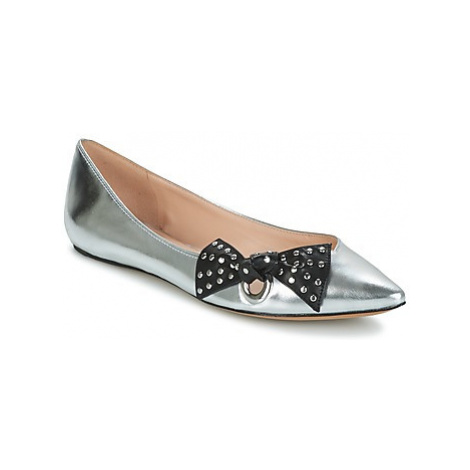 Marc Jacobs RITA POINTY TOE women's Shoes (Pumps / Ballerinas) in Silver