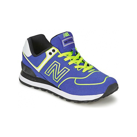 New Balance WL574 women's Shoes (Trainers) in Blue