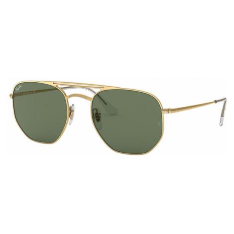 Ray-Ban Rb3609 Unisex Sunglasses Lenses: Green, Frame: Gold - RB3609 914071 54-20