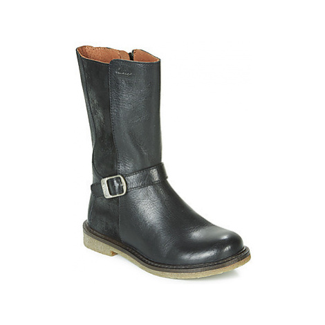 Aster WALI girls's Children's High Boots in Black