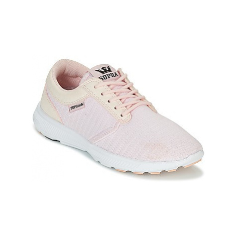 Supra WOMENS HAMMER RUN women's Shoes (Trainers) in Pink