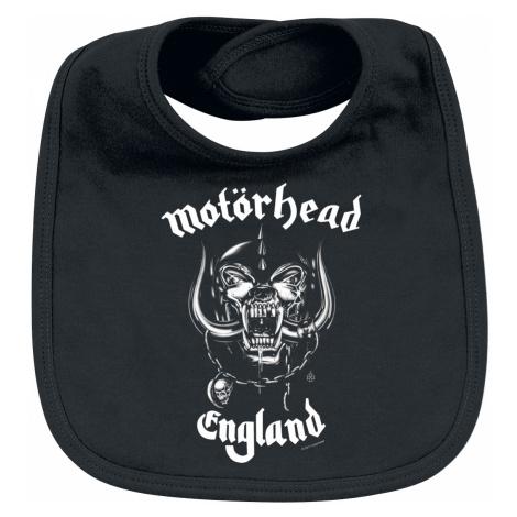 Motörhead - England - Baby Bib - black