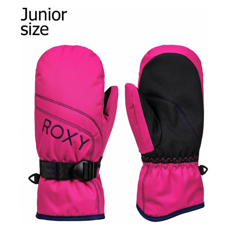 glove Roxy Jetty Solid Mitt - MML0/Beetroot Pink - girl´s