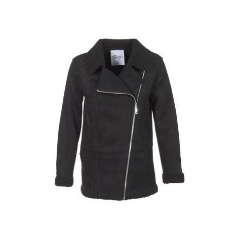 Betty London HARMI women's Coat in Black
