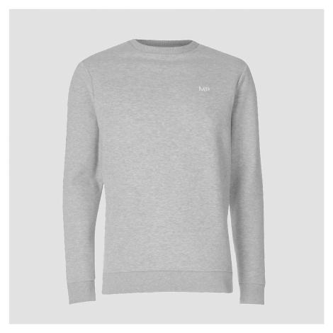 MP Men's Essentials Sweater - Classic Grey Marl Myprotein