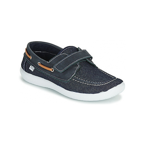 Citrouille et Compagnie JALOLIE boys's Children's Boat Shoes in Blue