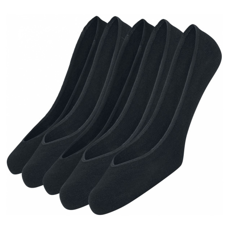 Urban Classics Invisible Socks 5-Pack Socks black