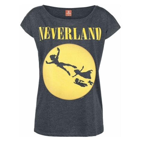 Peter Pan Neverland T-Shirt mottled dark grey