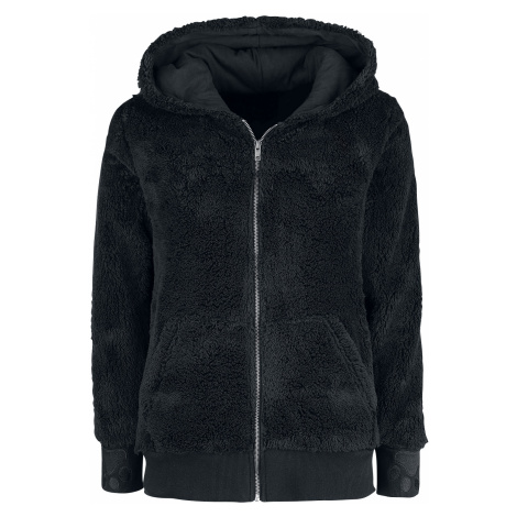 Full Volume by EMP - Freakin' Out Loud - Girls hooded zip - black