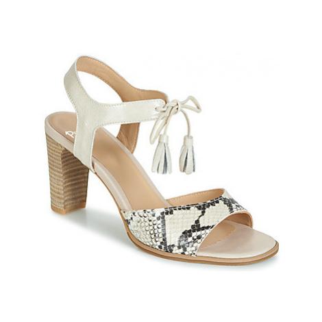 Perlato RUBY women's Sandals in Beige
