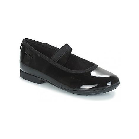 Geox JR PLIÉ girls's Children's Shoes (Pumps / Ballerinas) in Black