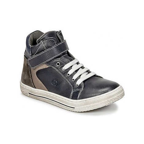 Citrouille et Compagnie HOCHOU boys's Children's Shoes (High-top Trainers) in Grey