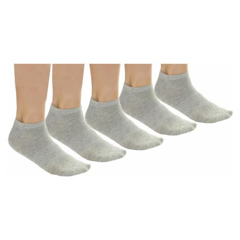 socks Urban Classics No Snow 5 Pack/TB1470 - Gray