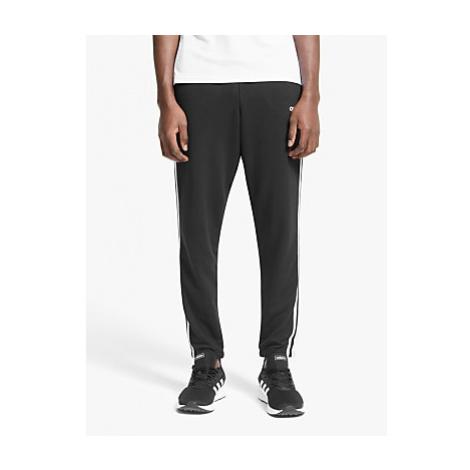 Adidas Essentials 3-Stripes Jogging Bottoms, Black