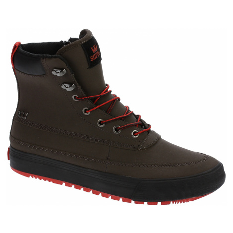 shoes Supra Suprawood - Demitasse/Risk Red