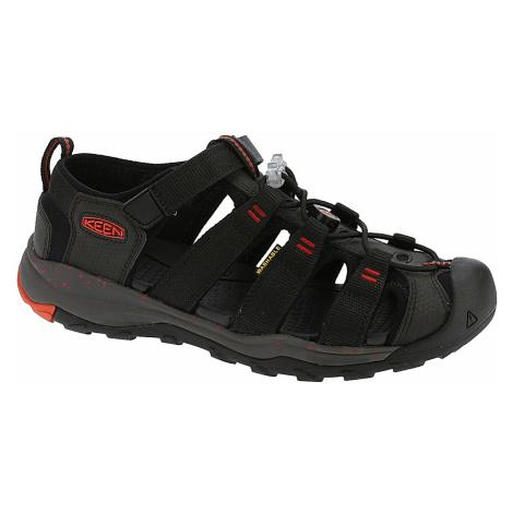 shoes Keen Newport Neo H2 - Black/Firey Red