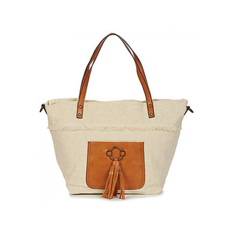 Moony Mood LOMINOL women's Shopper bag in Gold