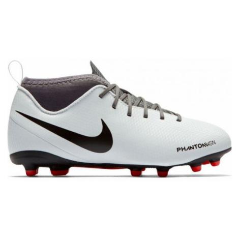 Nike JR PHANTOM VSN CLUB MG white - Kids' football boots