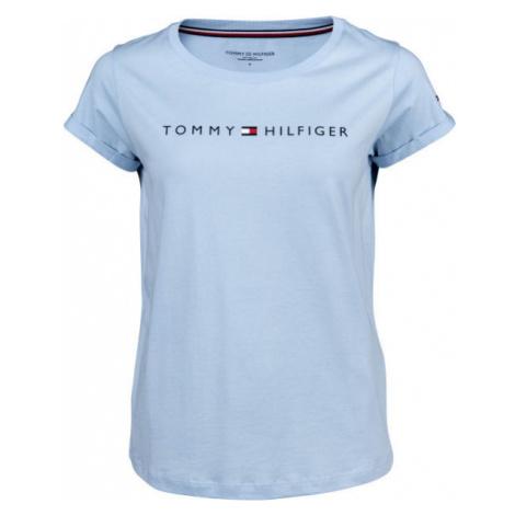 Tommy Hilfiger RN TEE SS LOGO blue - Women's T-shirt