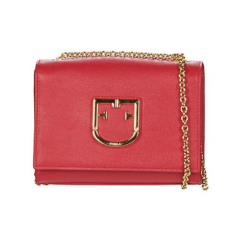 Furla FURLA VIVA MINI POCHETTE women's Shoulder Bag in Red