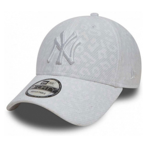 New Era 9Forty Womens MLB Leopard NY Yankees White
