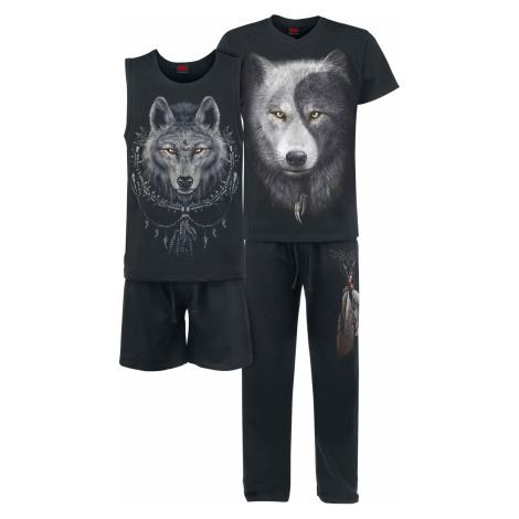 Spiral - Wolf Chi - Pyjamas - black