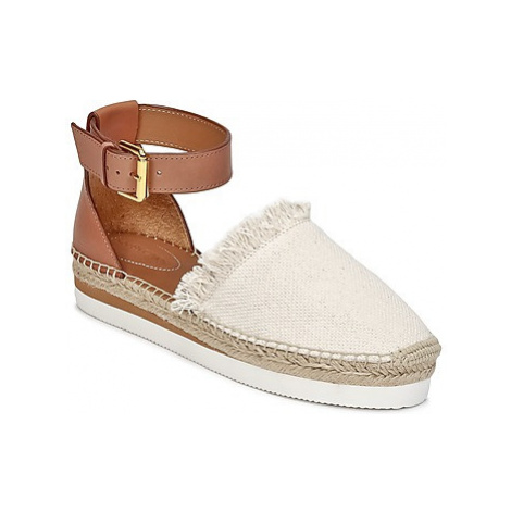 See by Chloé SB28151 women's Espadrilles / Casual Shoes in Brown
