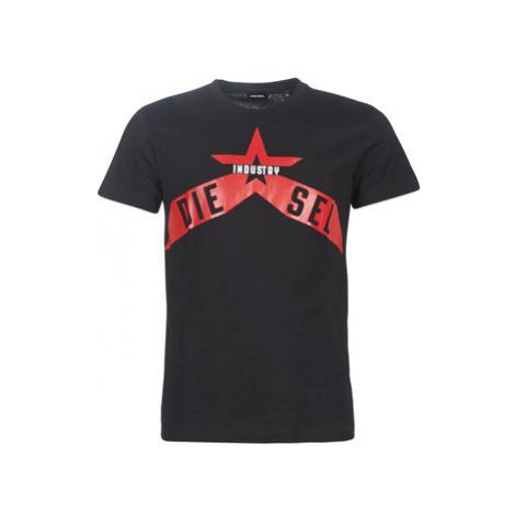 Diesel T DIEGO A7 men's T shirt in Black