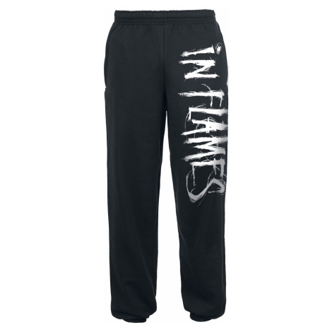 In Flames - Logo - Tracksuit Trousers - black