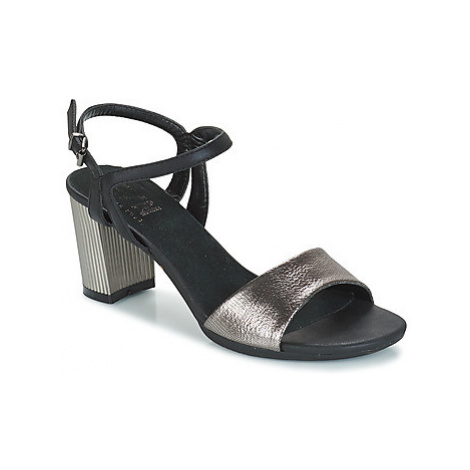 Elue par nous EGRENE women's Sandals in Silver
