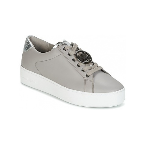 MICHAEL Michael Kors POPPY LACE UP women's Shoes (Trainers) in Grey