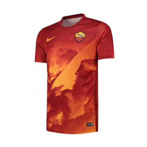 AS Roma Pre Match Training Top - Gold Nike