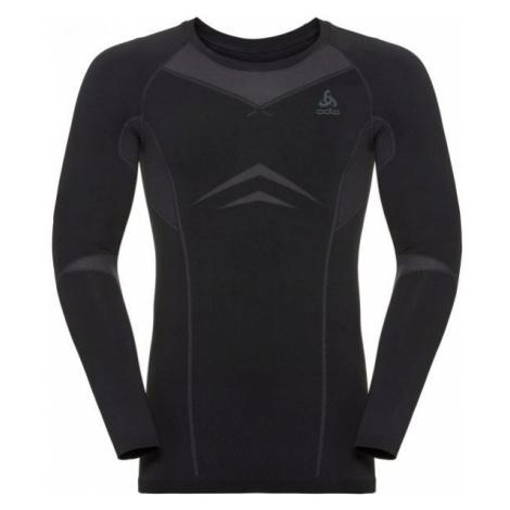 Odlo Odlo SUW MEN'S TOP L/S CREW NECK PERFORMANCE EVOLUTION WARM black - Men's T-shirt