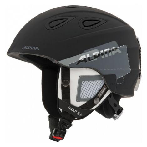 Alpina Sports GRAP 2.0 black - Ski helmet