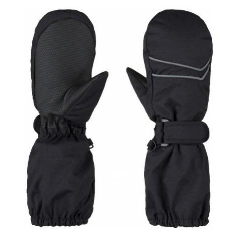 Loap RUDIK black - Kids' mittens