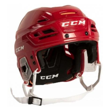CCM TACKS 710 SR red - Hockey helmet